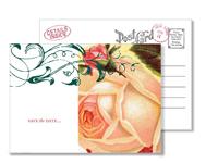 Garden 1 - Vintage Postcards - Ceci Ready-to-Order Collection - Ceci Wedding - Ceci New York