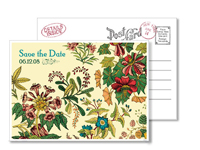 Garden 2 - Vintage Postcards - Ceci Ready-to-Order Collection - Ceci Wedding - Ceci New York