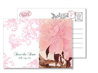 Garden 3 - Vintage Postcards - Ceci Ready-to-Order Collection - Ceci Wedding - Ceci New York