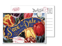 Garden 5 - Vintage Postcards - Ceci Ready-to-Order Collection - Ceci Wedding - Ceci New York