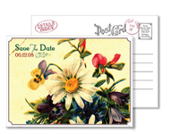 Garden 7 - Vintage Postcards - Ceci Ready-to-Order Collection - Ceci Wedding - Ceci New York