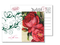 Garden 8 - Vintage Postcards - Ceci Ready-to-Order Collection - Ceci Wedding - Ceci New York
