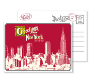 New York 6 - Vintage Postcards - Ceci Ready-to-Order Collection - Ceci Wedding - Ceci New York