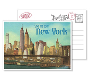 New York 7 - Vintage Postcards - Ceci Ready-to-Order Collection - Ceci Wedding - Ceci New York