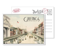 New York 8 - Vintage Postcards - Ceci Ready-to-Order Collection - Ceci Wedding - Ceci New York