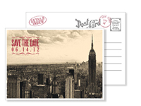 New York 10 - Vintage Postcards - Ceci Ready-to-Order Collection - Ceci Wedding - Ceci New York
