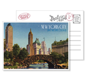 New York 12 - Vintage Postcards - Ceci Ready-to-Order Collection - Ceci Wedding - Ceci New York